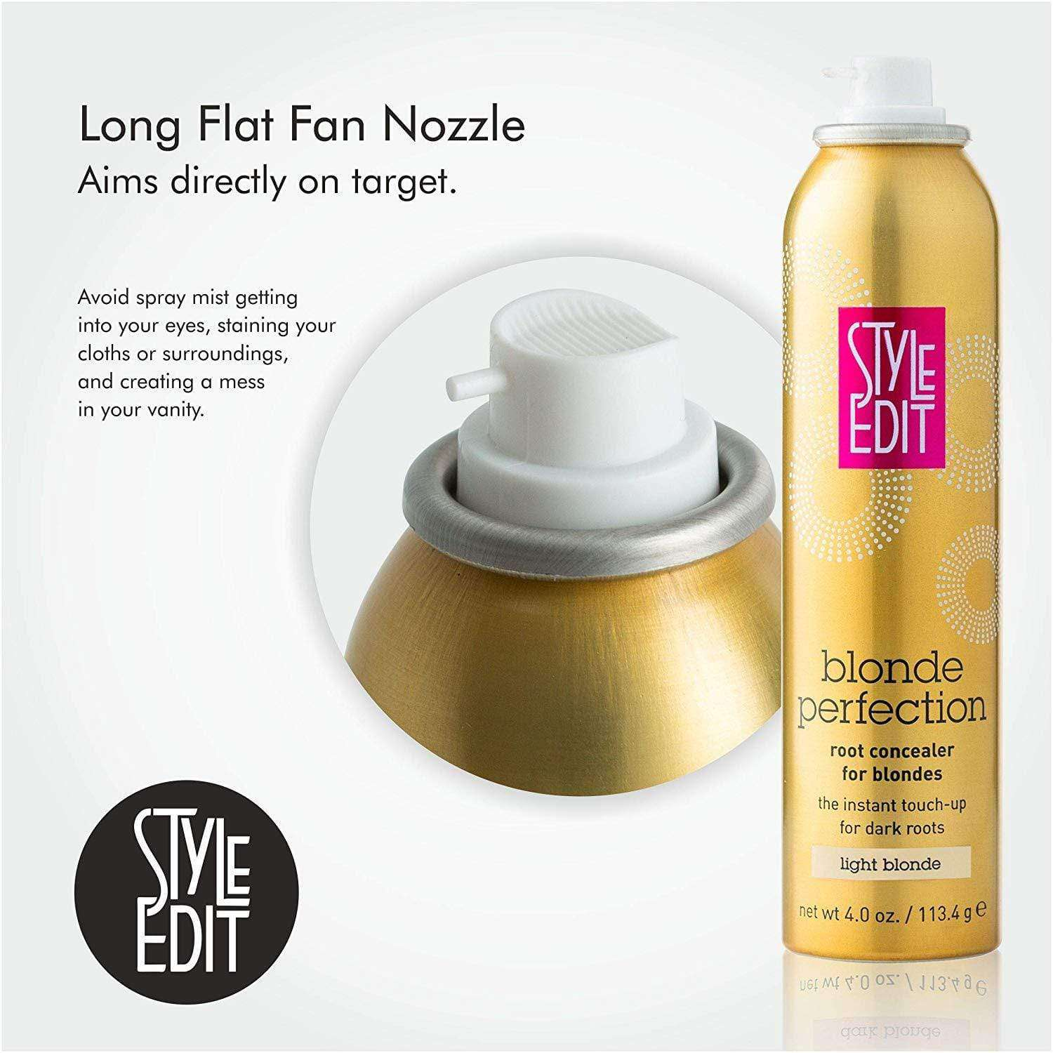 Style Edit Blond Perfection Root Concealer Touch Up Spray - Style Edit data-zoom=