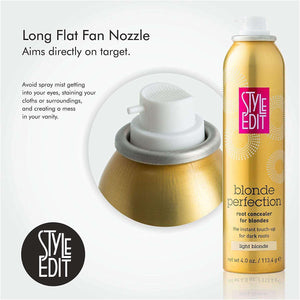 Style Edit Blond Perfection Root Concealer Touch Up Spray