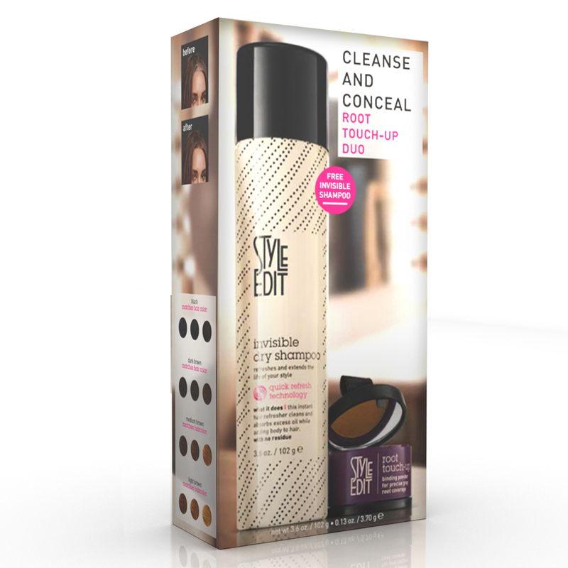 Cleanse and Conceal: Root Touch-up Duo