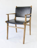 Limbricht Dining Arm Chair (Black)