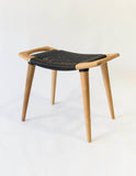 Mara Stool (Black Strapping)