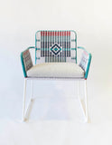 Ndebele Chair Blue