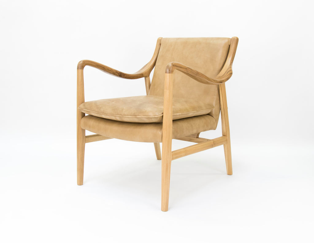 Franquin Chair Natural Leather