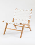 Maarsveld Chair (White Leather Strapping)