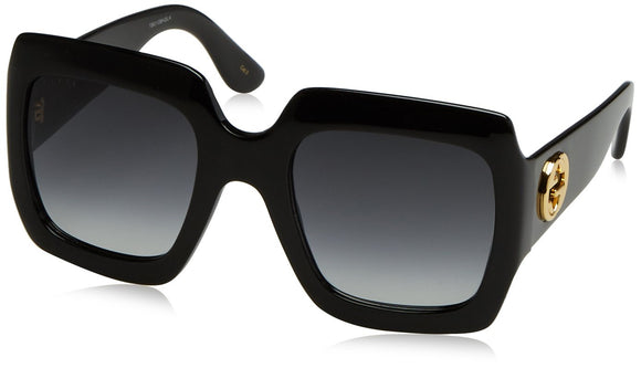 Gucci Shiny Black Butterfly Sunglasses - Zenith Solutions