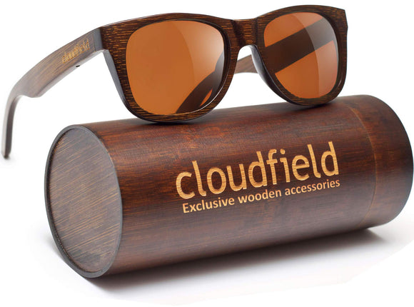 Wood Sunglasses Polarized for Men and Women - Bamboo Wooden Sunglasses Sunnies - Zenith Solutions
