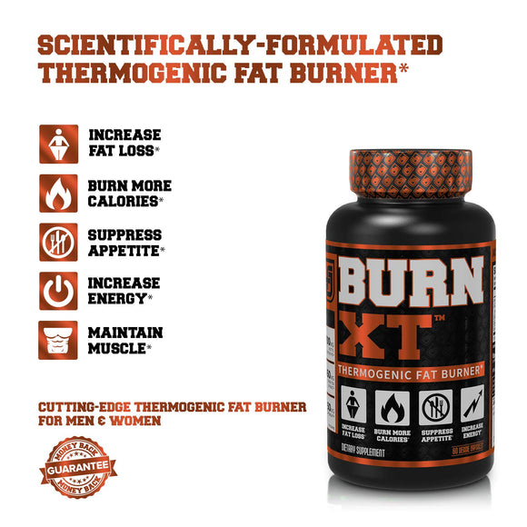 Burn-XT Thermogenic Fat Burner - Weight Loss Supplement, Appetite Suppressant, Energy Booster - Zenith Solutions