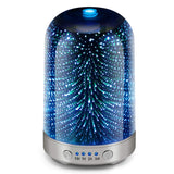 Essential Oil Diffuser 3D Glass Galaxy Aromatherapy - Zenith Solutions