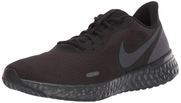 Nike Men's Revolution 5 Running Shoe, Black/Anthracite, 10 Regular US - Zenith Solutions