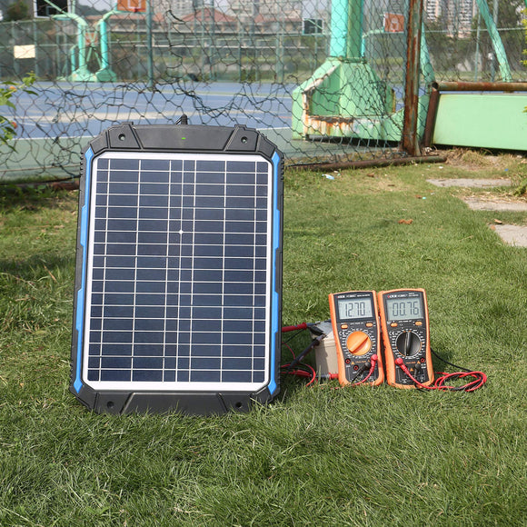 Waterproof 12V Solar Battery Charger & Maintainer Pro - Zenith Solutions