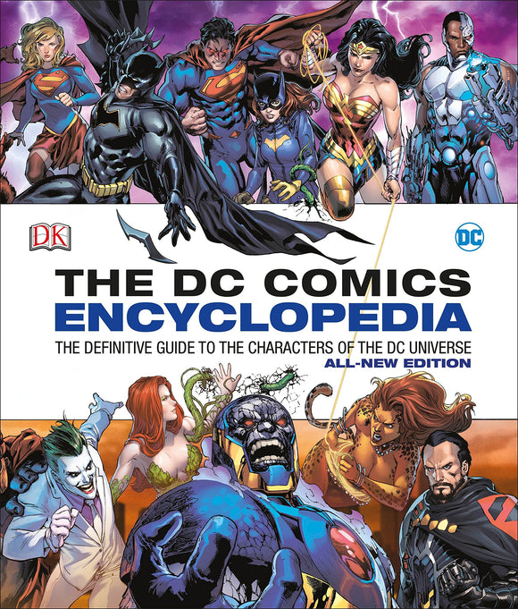 DC Comics Encyclopedia All-New Edition: The Definitive Guide to the Characters of the DC Universe - Zenith Solutions