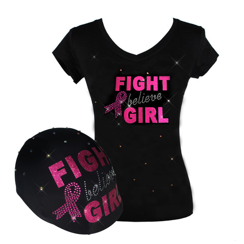 Fight Girl Breast Cancer Awareness Set
