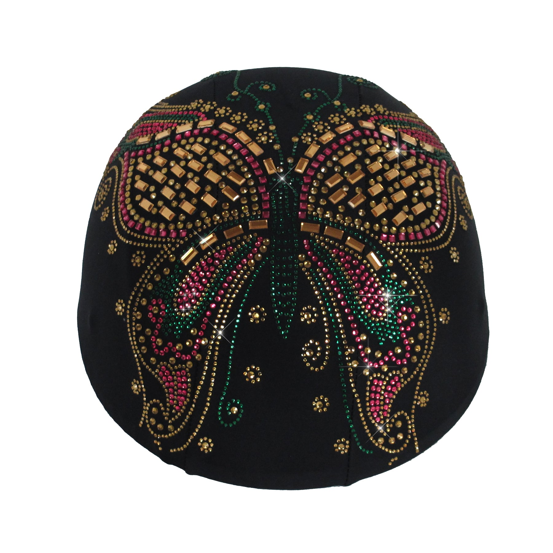 Helmetra Glass Butterfly Custom Helmet Cover