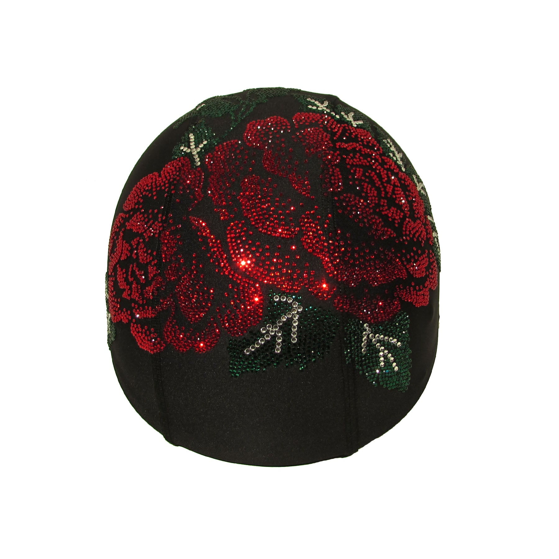 Helmetra AX Red Rose Custom Helmet Cover
