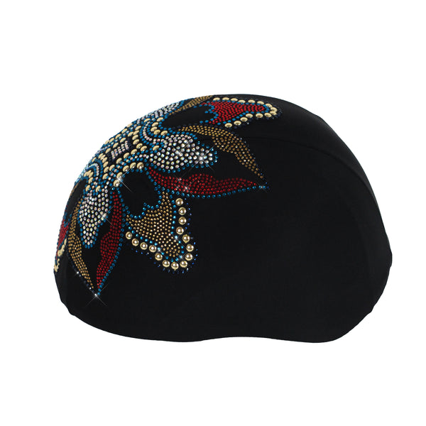 Helmetra Open Flower Custom Helmet Cover