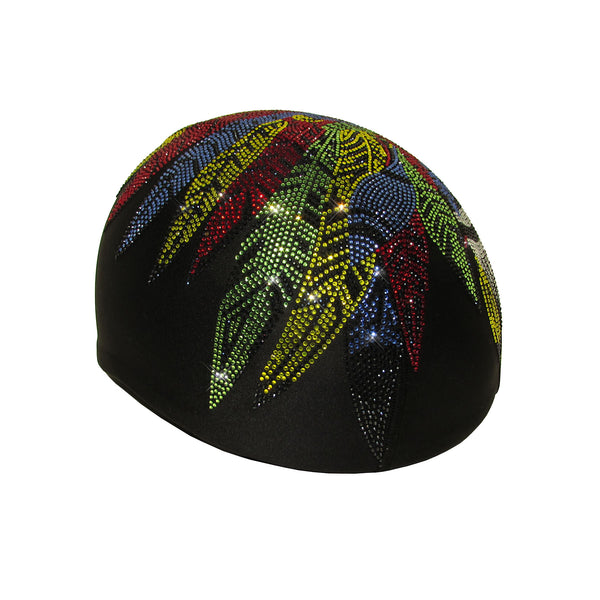 Helmetra Colorful Indian Skull Custom Helmet Cover