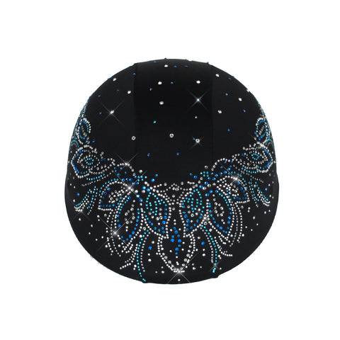 Helmetra Blue Necklace Helmet Cover