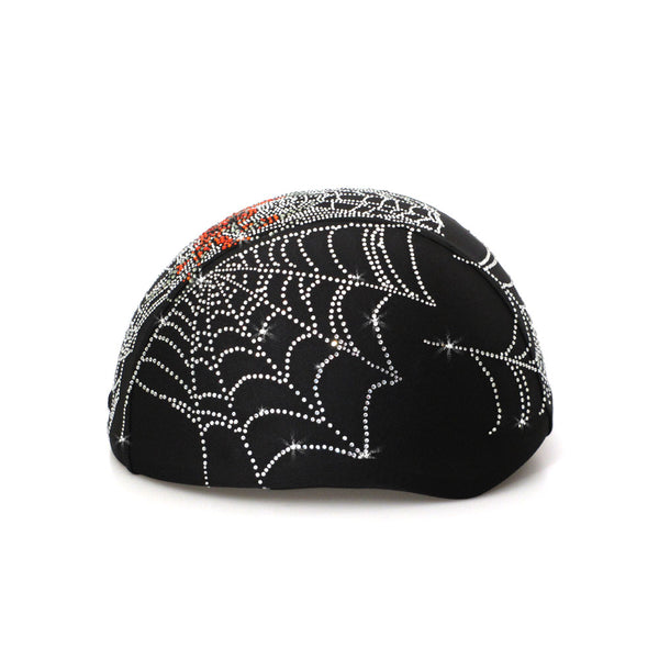 Helmetra Orange Spider Custom Helmet Cover