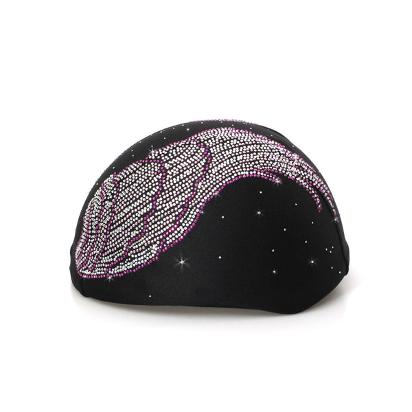 Helmetra Purple Stud Wings Custom Helmet Cover