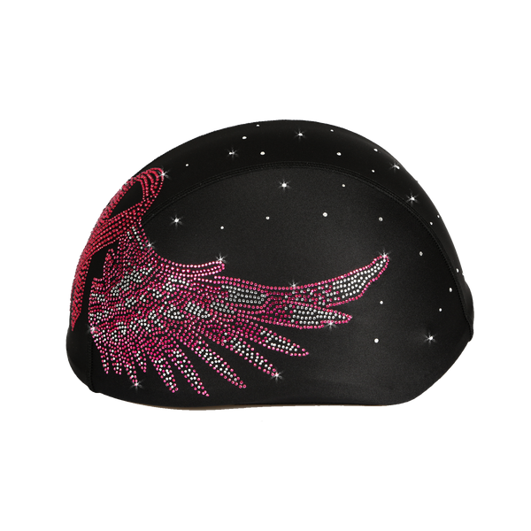 Helmetra Pink Ribbon Breast Cancer Wings Custom Helmet Cover