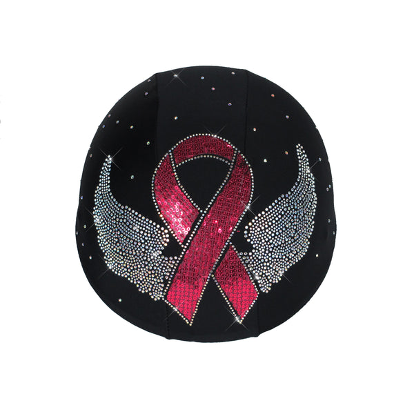 Helmetra Cancer Ribbon Helmet Cover