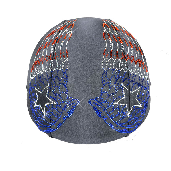 Grey Base Helmetra Custom Helmet Covers