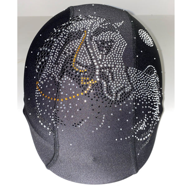 Horse moon custom helmet cover