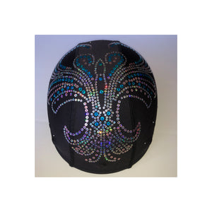 Helmetra sequin design design custom helmet cover