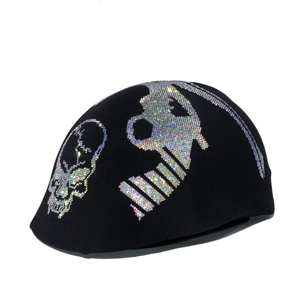 Special Gun with AB Crystals Custom Helmet Cover