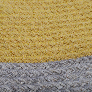 NOLAN CURCUMA children's rug in braided wool