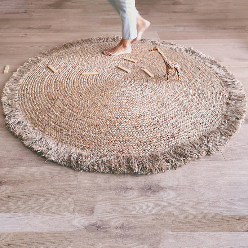 TERRA jute with fringes
