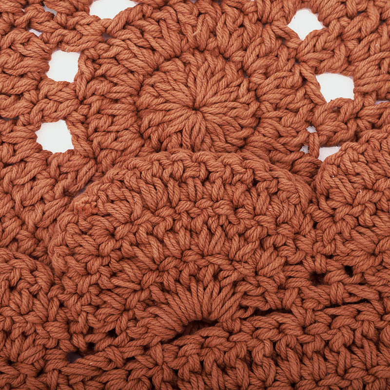 ALMA AMBRE crochet children's rug