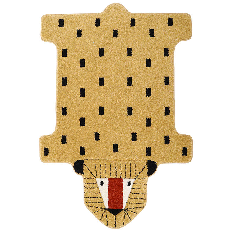 LOTTAH tapis enfant lion