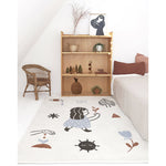 LOVE right by Marta Abad Blay children's rug