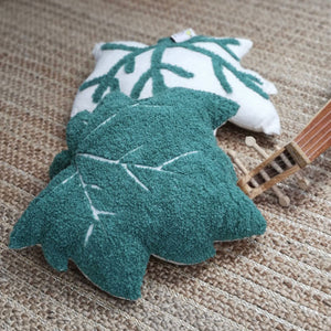 leaf cushion set for kids rooms