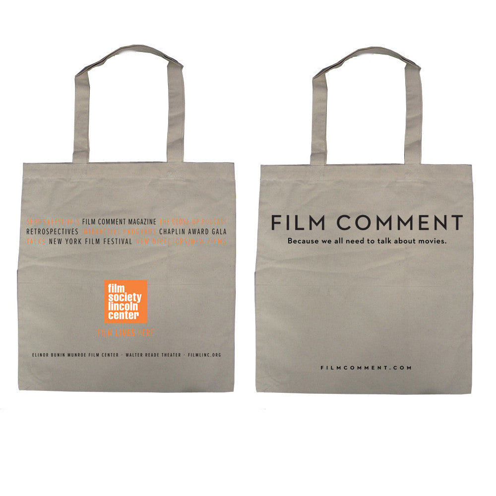 Film Society + Film Comment Two-Sided Tote