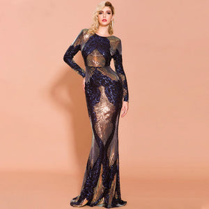 Varina - Sequin Gown