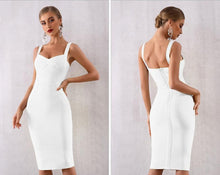 Load image into Gallery viewer, Vestido Sexy  Backless Bandage Dress - MSCOOCO