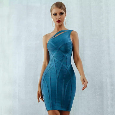 Hollow Out Bandage Bodycon Dress