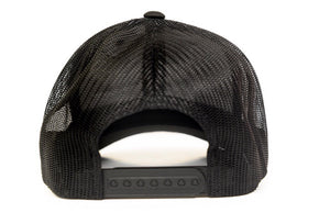 BLACK SIGNATURE MESH TRUCKER