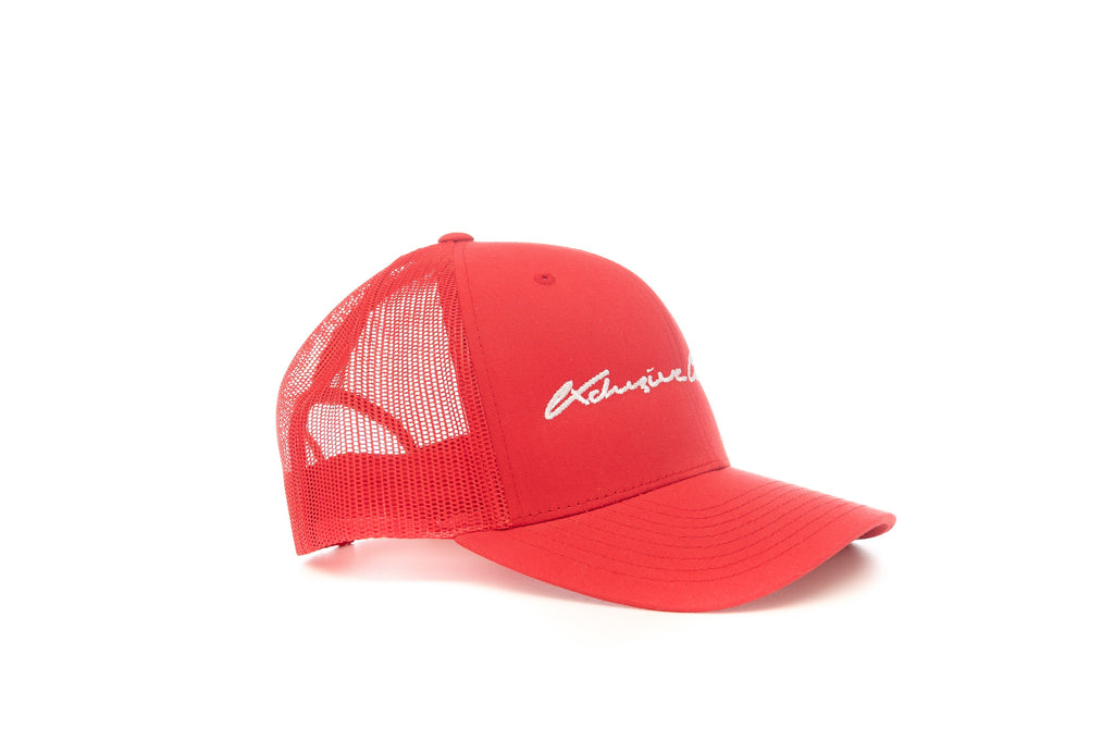 RED SIGNATURE MESH TRUCKER