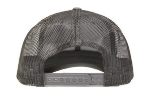 CHARCOAL GREY SIGNATURE MESH TRUCKER