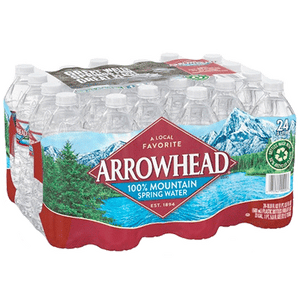 Spring Water - .5 liter Bottle, 24 pack