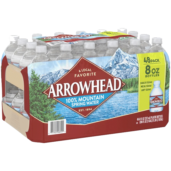 Spring Water - 8 oz Bottle, 48 pack