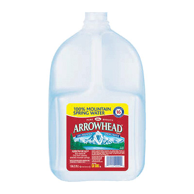 Spring Water - 1 Gallon Bottle, 6 pack