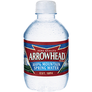 Spring Water - 8 oz Bottle, 12 pack
