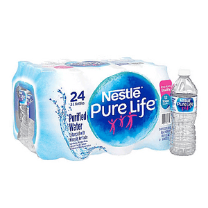 Purified Water - .5 L Bottle, 24 pack
