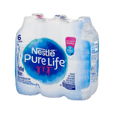 Purified Water - .5 L Bottle, 6 pack