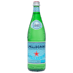 Sparkling Natural Mineral Water - 750 ml Bottle, 12 pack