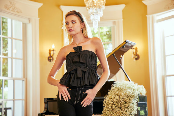 Ring in the New Year in the Perfect Black Top!